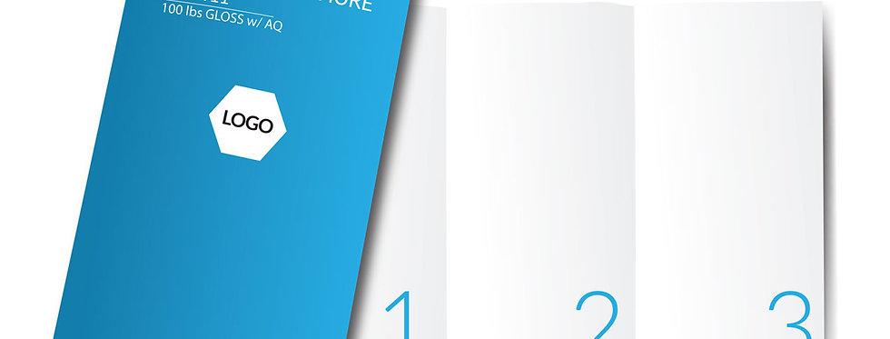 """Brochure 8.5"""" x 11"""""""