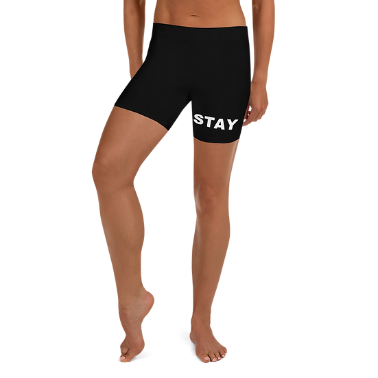 Stay Modest Yoga Shorts