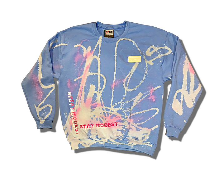 Graffiti Modesty Crewneck
