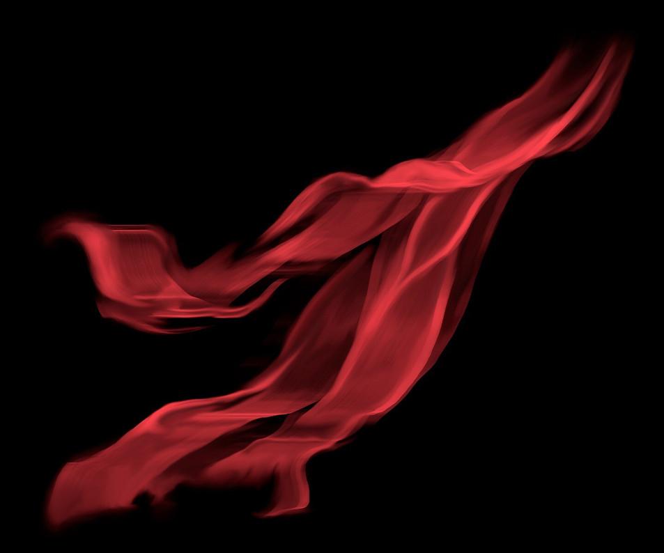 Le foulard rouge