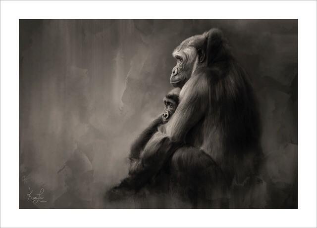 Gorillas by KariLou