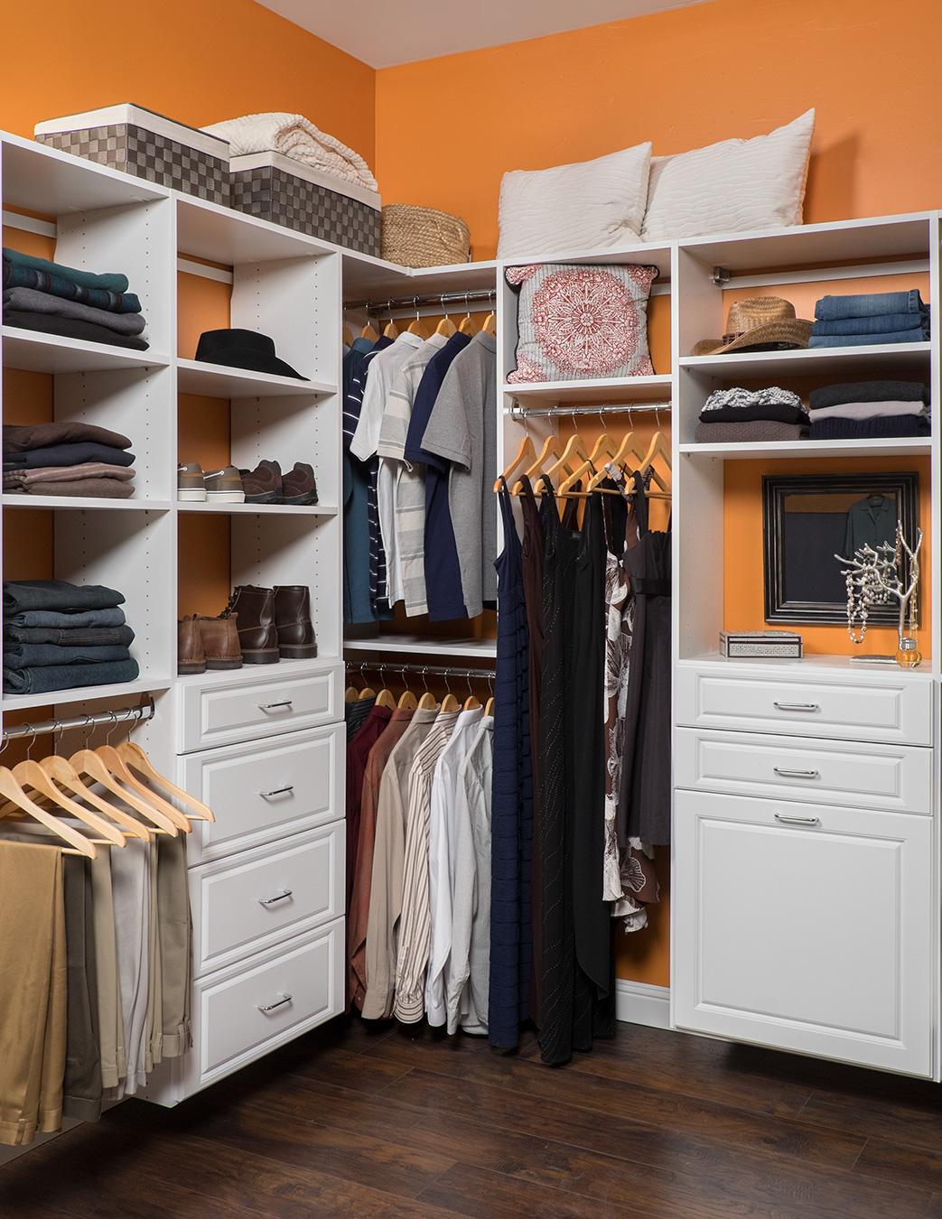 Closet Storage White