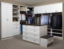 Master Bedroom Closet White