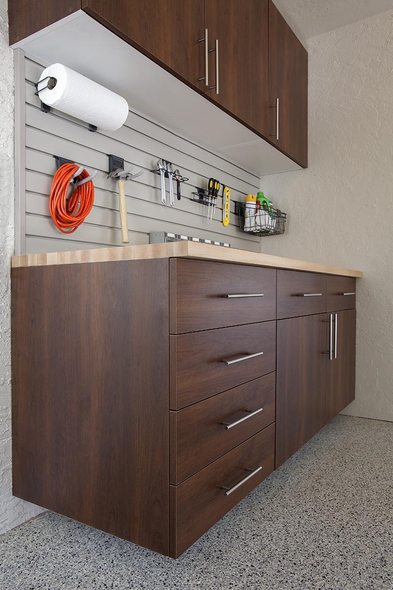 Garage Storage Workbench