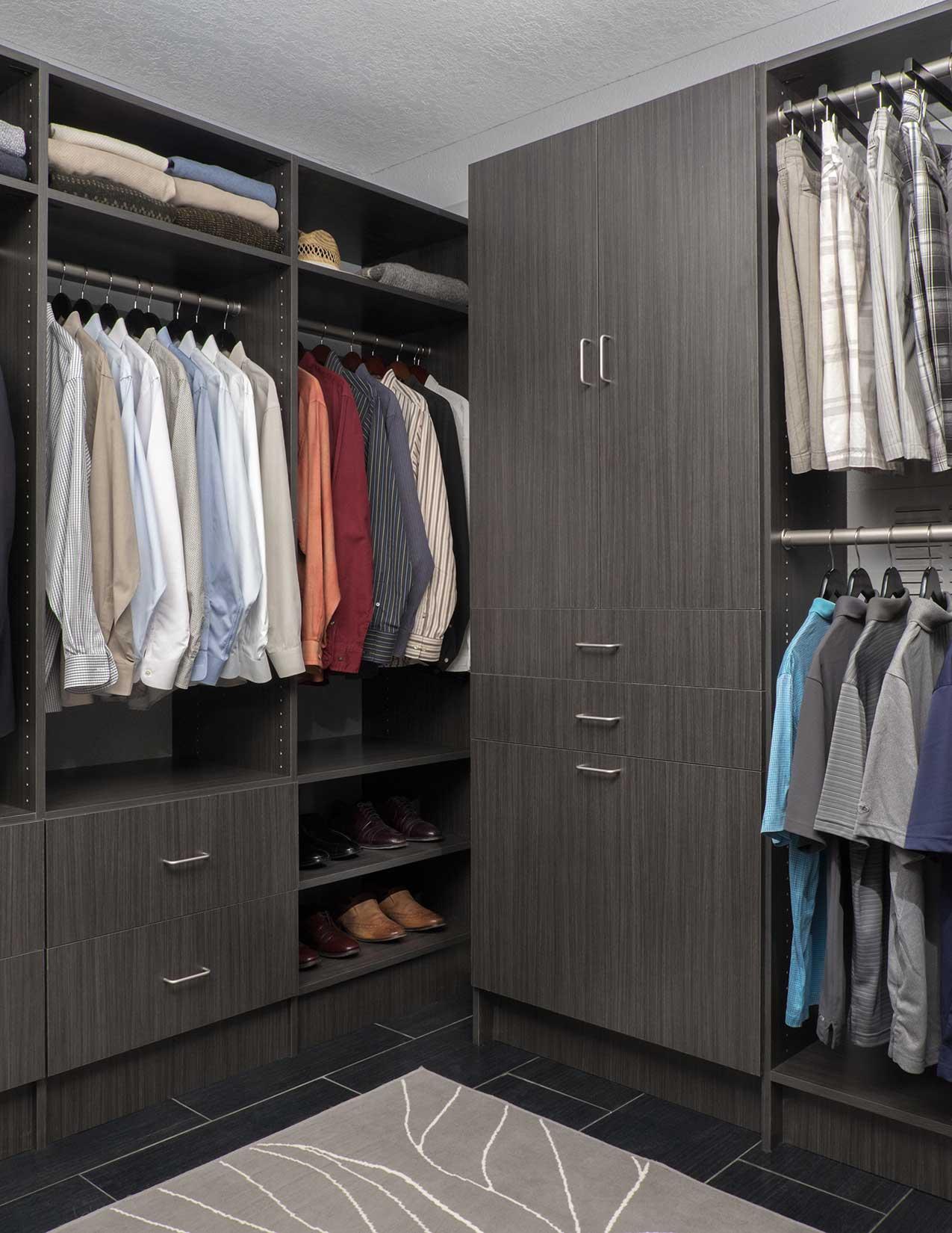 Men's Closet Storage