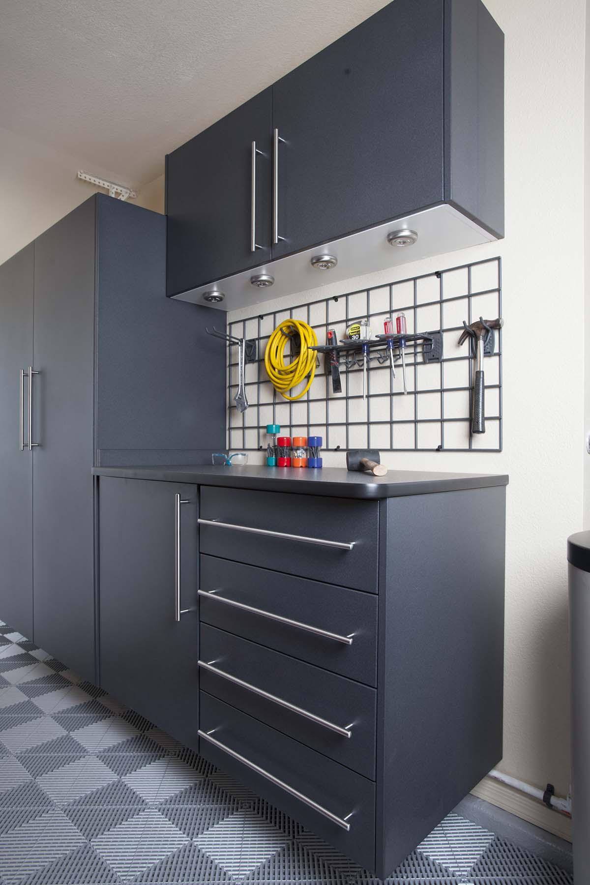 Garage Storage Tool Organization