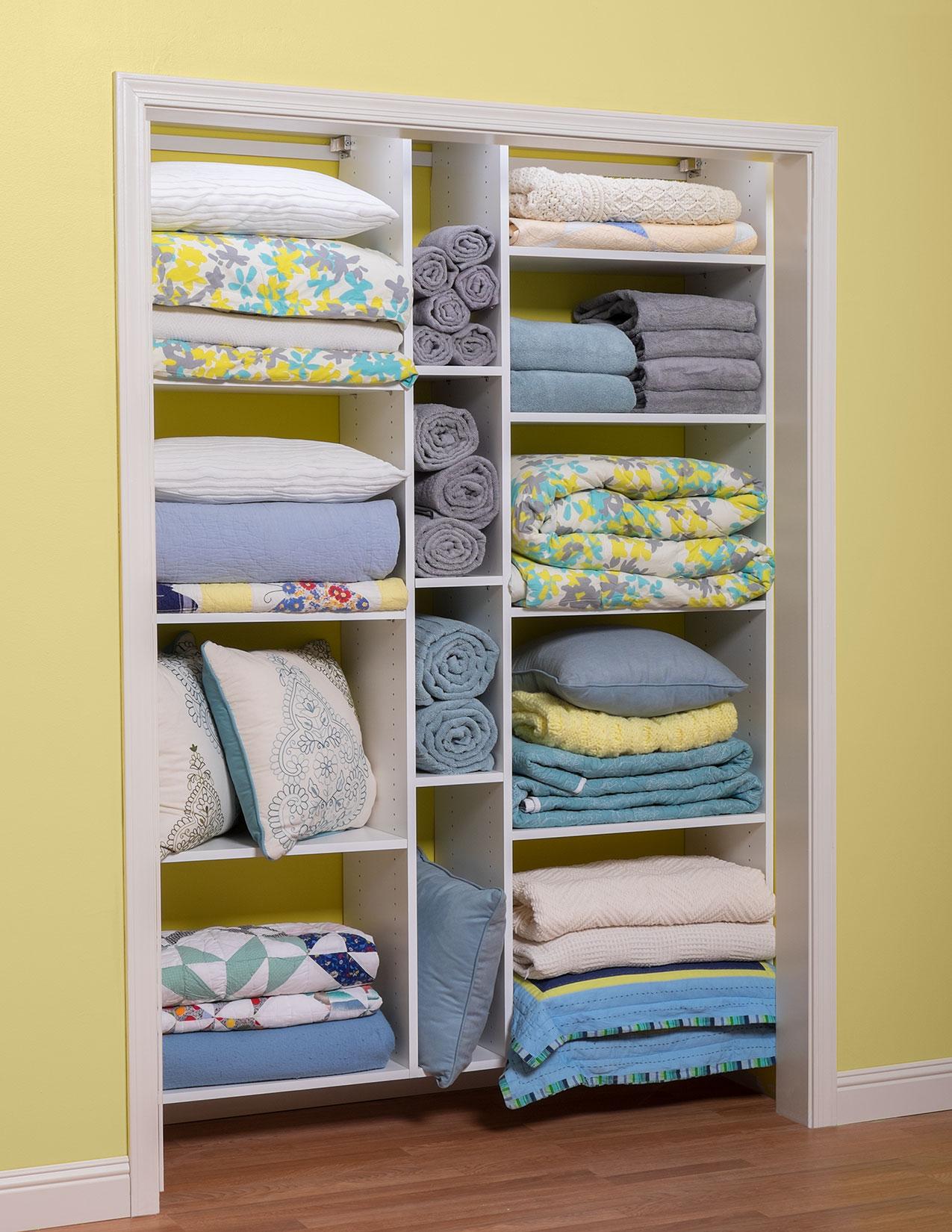 Linen Closet Storage