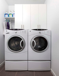 Small Laundry Room Storage