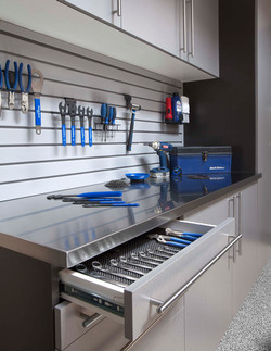 Garage Storage Workbench