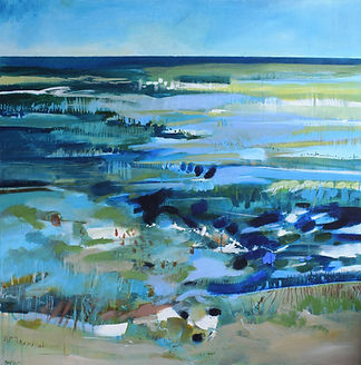 Sophie Parr - Receding Tide(Patchings) .