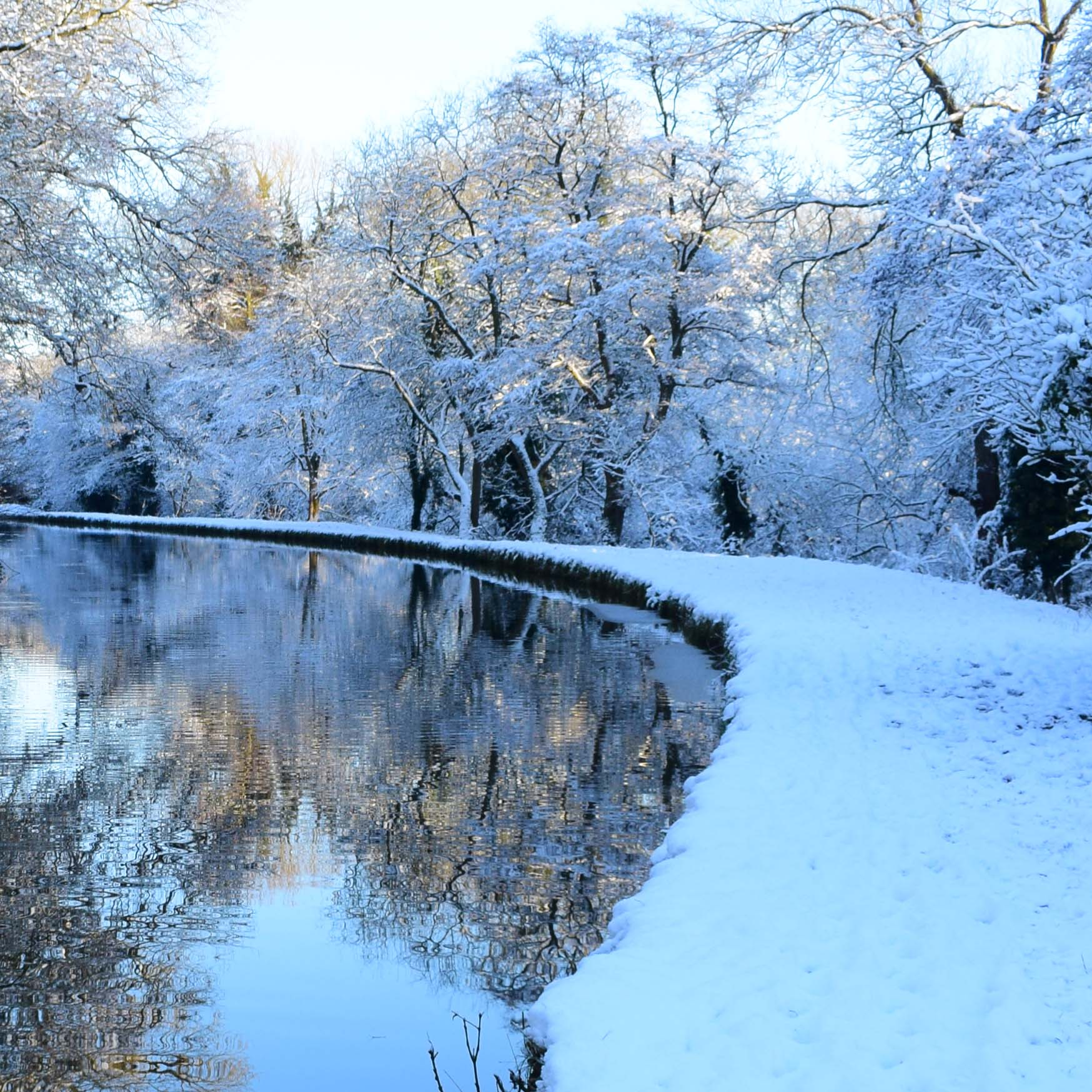 W5 Snowy Bunbury Towpath