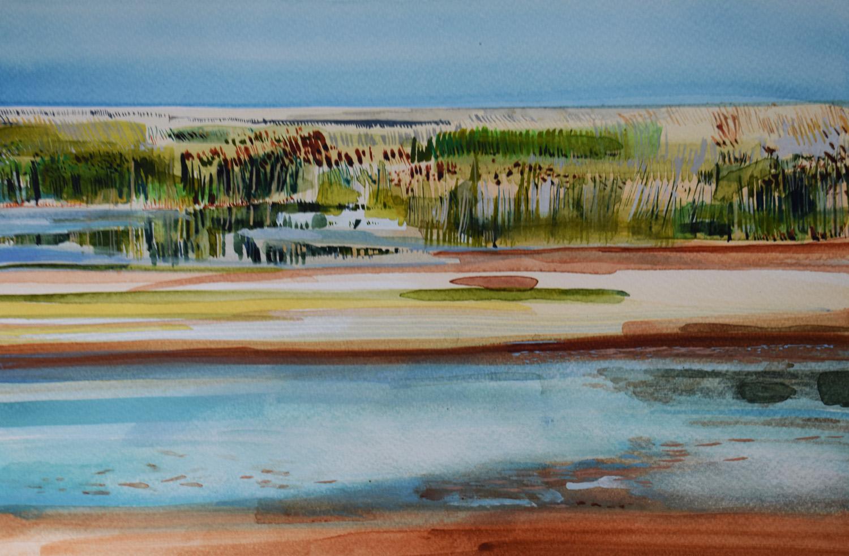 'Cley Marsh, Norfolk' (2)