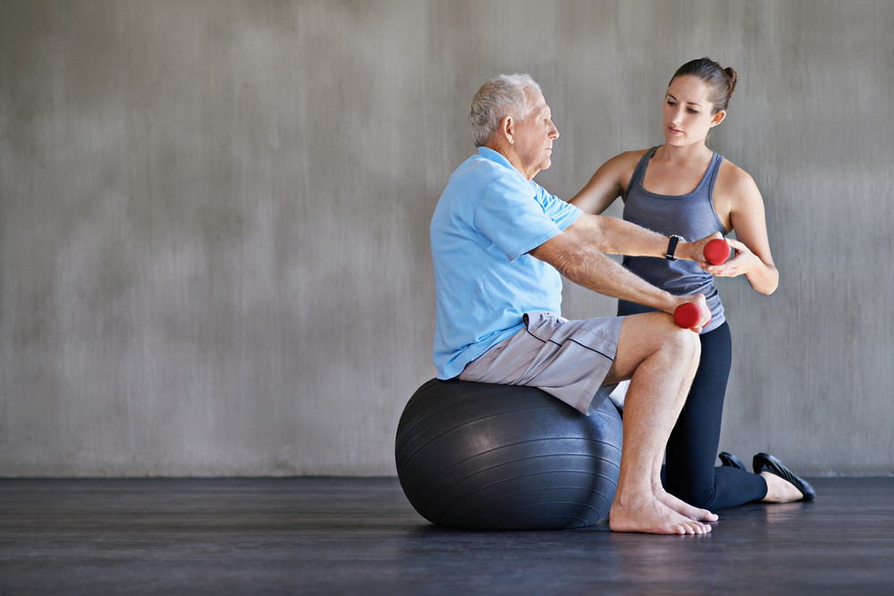physical therapy, senior citizen physical therapy