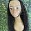 "Thumbnail: Natural curly lace frontal wig 28"" 180% density"