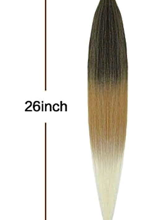 PRE STRETCHED COLOR: HONEY BLONDE (1B/27/613)
