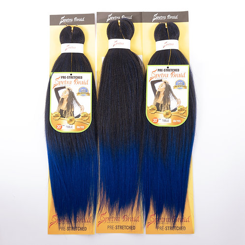 EZBRAID 20'' COLOR 1B/BLUE