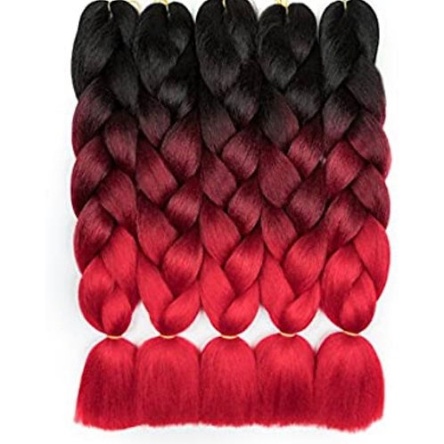 COLOR:HOT RED 24''