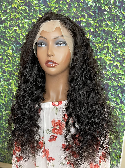 """""""Serena"""" 13*4 frontal lace wig 150% density water wave 22"""""""