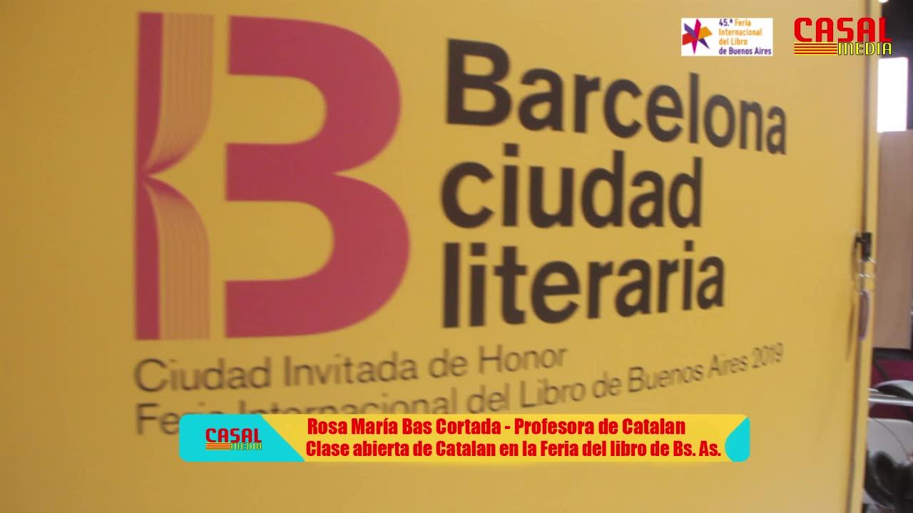 Clase abierta de Catalán en la Feria del libro