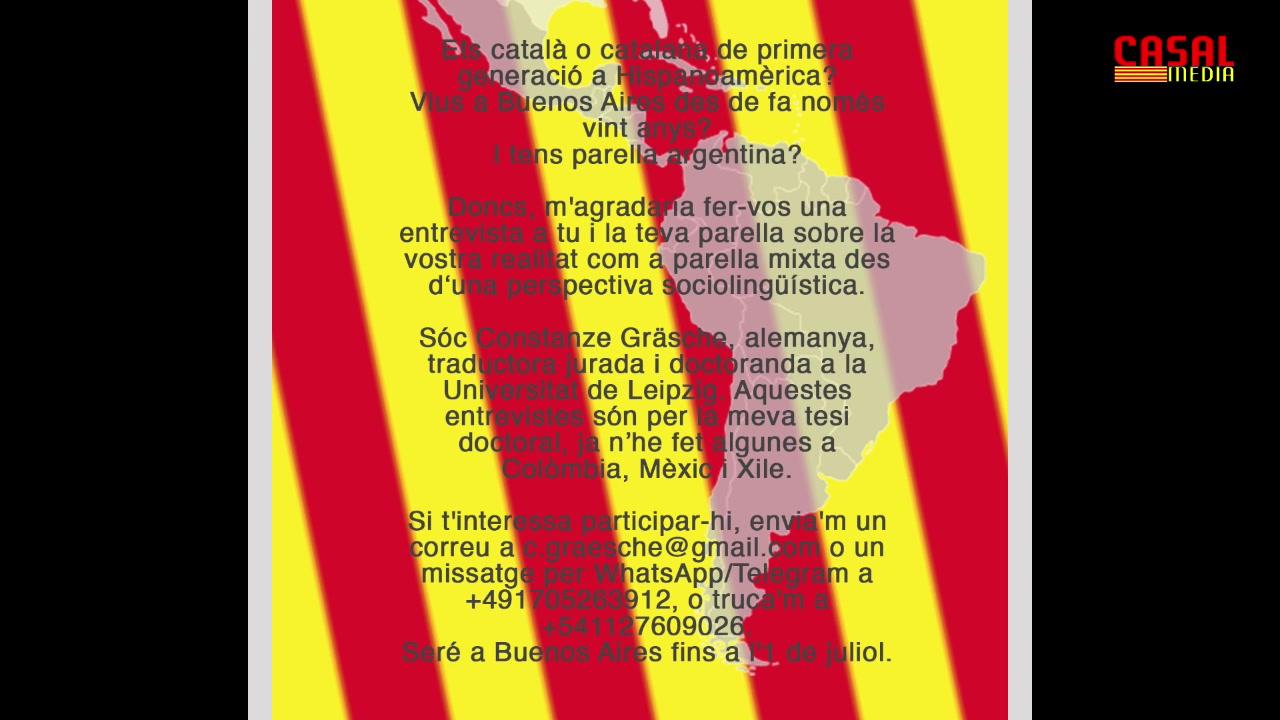 La Hora Catalana, Pgm 30-05-19