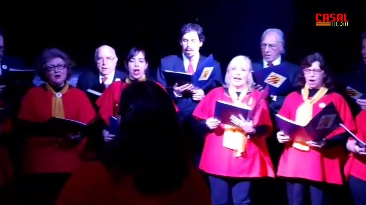 Primera Presentación del Orfeo Catalá en el Casal de Catalunya de Bs. As.