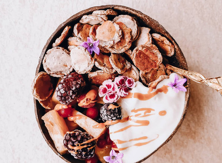 Vegan Pancake Cereal   Gesundes veganes Frühstück - Aka new Foodtrend