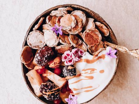 Vegan Pancake Cereal | Gesundes veganes Frühstück - Aka new Foodtrend