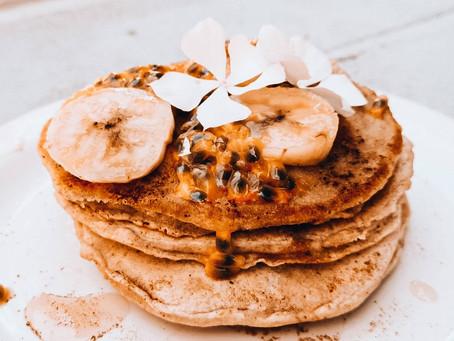 Vegane Pancakes | Gesund, Fluffig, Einfach & Lecker