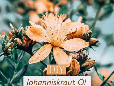 DIY Johanniskrautöl | Wirkungen auf Körper, Geist & Seele | Johanniskrautöl herstellen