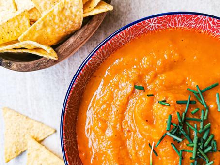 Vegane Kürbissuppe mit Ingwer & Karotte | Gesund, einfach, lecker und wärmend