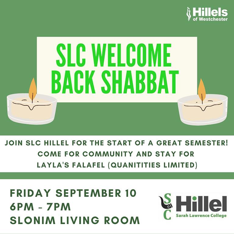 SLC Welcome Back Shabbat