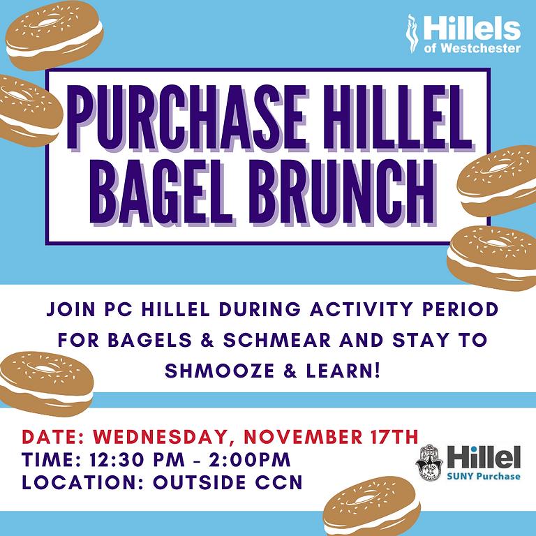 Purchase Hillel Bagel Brunch