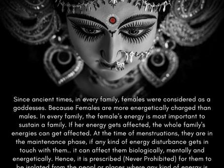 Science Behind Ancient Menstruation Rituals   Part - 3