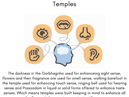 The Science Behind The Temple - Part 5 | How All Five Senses Are Triggered The Temples