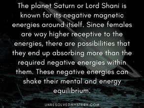 Why Females Were Prescribed (Never Prohibited) Not To Visit Lord Shani's Statue  Ancient Science