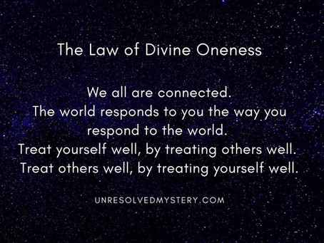 The Law of Divine Oneness | First Law of the Universe | 12 Laws of The Universe