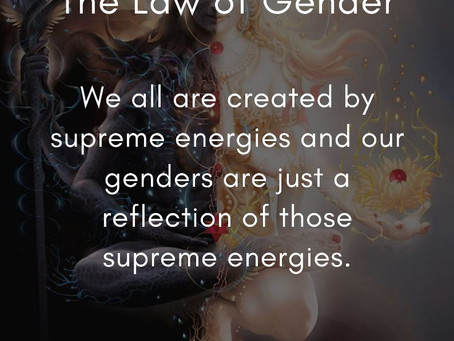 The Law of Gender | Tenth Law of The Universe | 12 Laws of The Universe