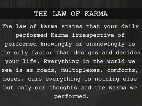 The Law of Karma | The law of Cause & Effect | The Sixth Law of Universe | 12 Laws of The Universe