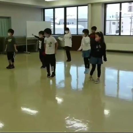 小学生嵐ターニングアップダンス😊