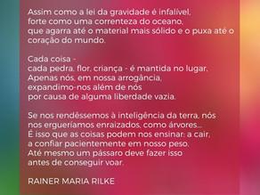 Poema Mindfulness -  Rainer Maria Rilke