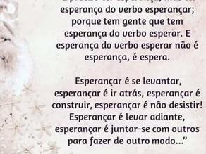 Poema Mindful -  Paulo Freire