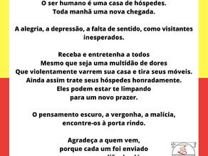 Poema Mindful - A casa de Hospedes- Rumi