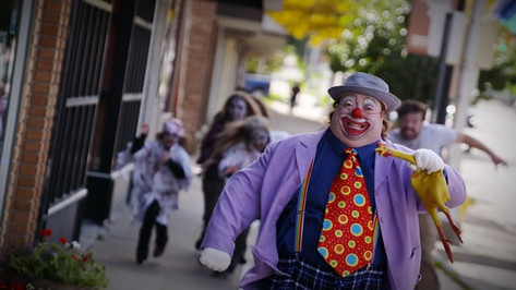ZOMBIES & A CLOWN