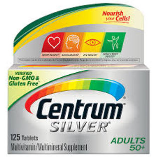 Centrum Silver Adults 50+ 125tablet