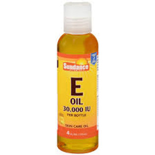 Sundance Vitamin E Oil Liquid 4 oz