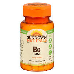 VITAMIN B-6 100 MG 100 Tablet