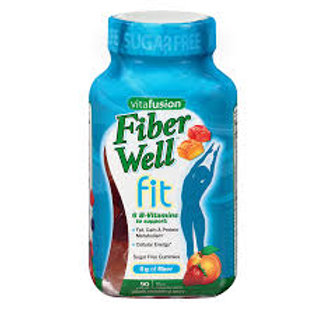 Vitafusion Fiber Well Fit Gummies , Weight Management Peach, Strawberry & Berry