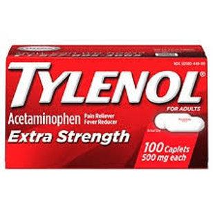 TYLENOL Extra StrengthPain Reliever & Fever Reducer 500 mg 100 Caplets