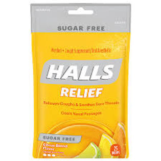 HALLS RELIEF Citrus Blend Flavor