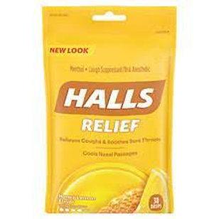 HALLS RELIEF Honey Lemon Flavor 30 Drops